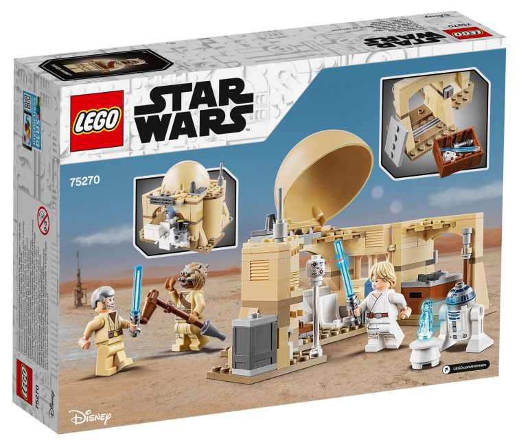 LEGO Star Wars 75270 Obi Wans Hut Box Back