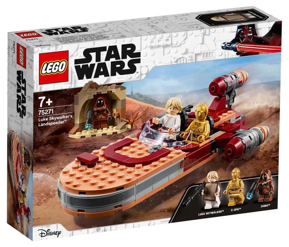 LEGO Star Wars 75271 Lukes Llandspeeder Box Front