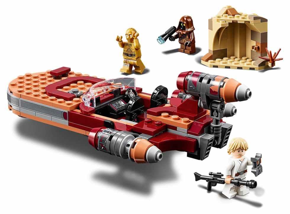 LEGO Star Wars 75271 Lukes Llandspeeder