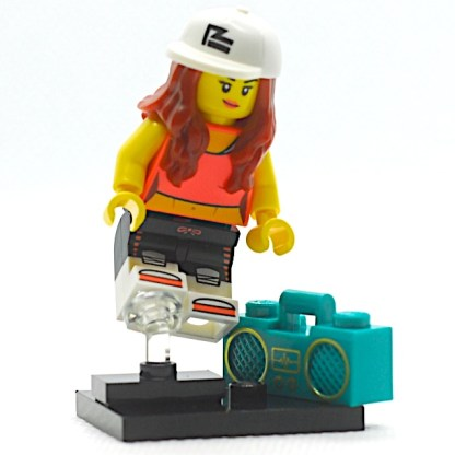 LEGO 71027 CMF 20 Hip Hop Girl Minifigure 1