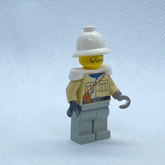 LEGO Baron Von Barron with Pith Helmet and White Epaulettes Minifigure