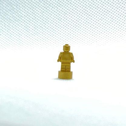 LEGO Trpphy Minifigure Monochrome Metallic Gold