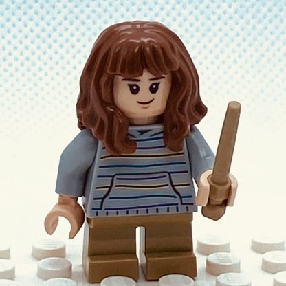 LEGO Minifigure Hermione Granger from the Hogwarts Express set