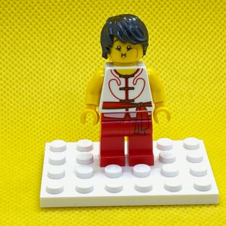 LEGO Minifigure Dragon Boat Race Team Red/White Member 2