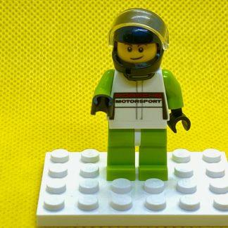LEGO Porsche Race Car Driver Minifigure