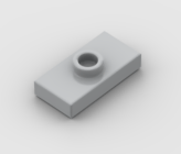 LEGO Part Light Bluish Grey Plate, Modified 1 x 2 with 1 Stud with Groove (Jumper)