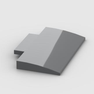 LEGO Part Dark Bluish Gray Slope, Curved 5 x 8 x 2/3