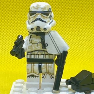 LEGO Star Wars Sandtrooper (Sergeant) - White Pauldron, Ammo Pouch, Dirt Stains, Survival Backpack Executioner