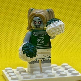LEGO CMF Series 14 Zombie Cheerleader Minifigure