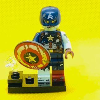 LEGO 71031 Marvel Minifigure - Zombie Captain America