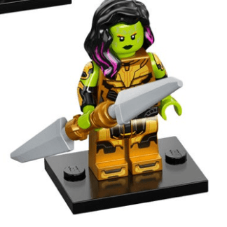 Gamora with the Blade of Thanos