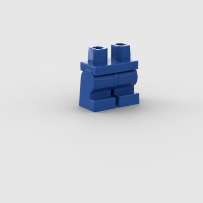 LEGO Minifigure Part Blue Hips and Medium Legs