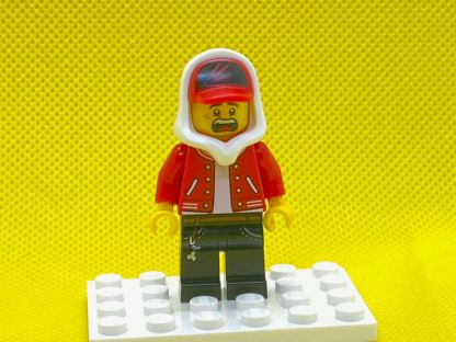LEGO Jack Davids Minifigure Open Mouth