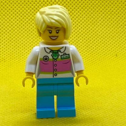 LEGO Cotton Candy Vendor Minifigure