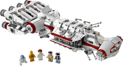 Lego 10198 Tantive IV Ship and Figures