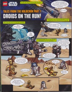Lego Star Wars Comic Page 1