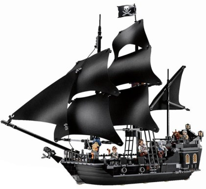 Lego Black Pearl Set
