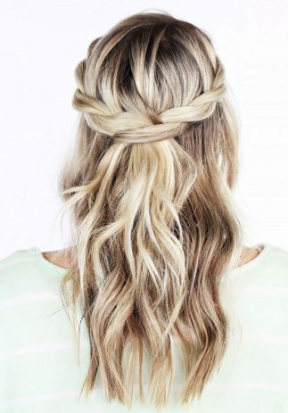 Stunning Half Up Half Down Wedding Hairstyles Ideas No 105 Bridal Boutique Warwickshire