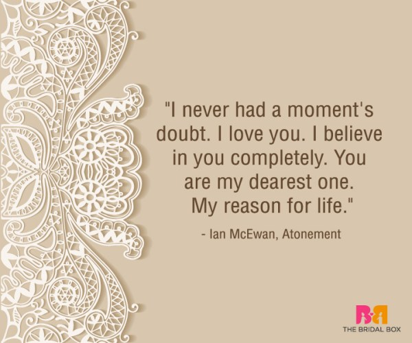 Heart Touching Love Quotes For Him - Ian McEwan