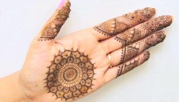 8 Simple Arabic Mehndi Designs For Beginners