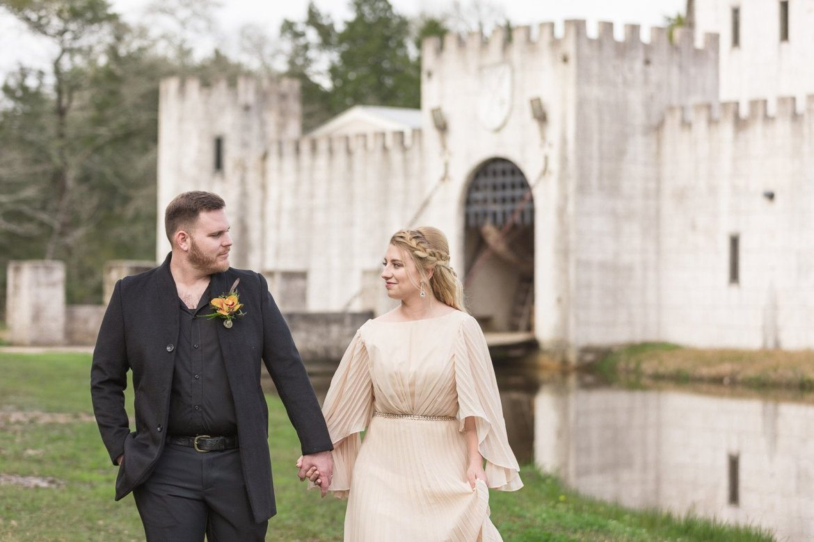 Game of Thrones inspired wedding editorial in Texas