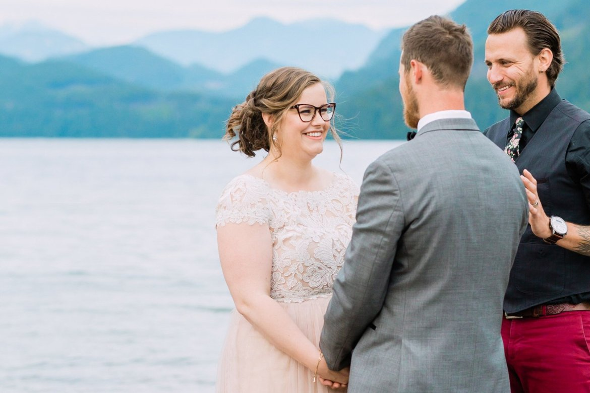 wedding elopement ceremony