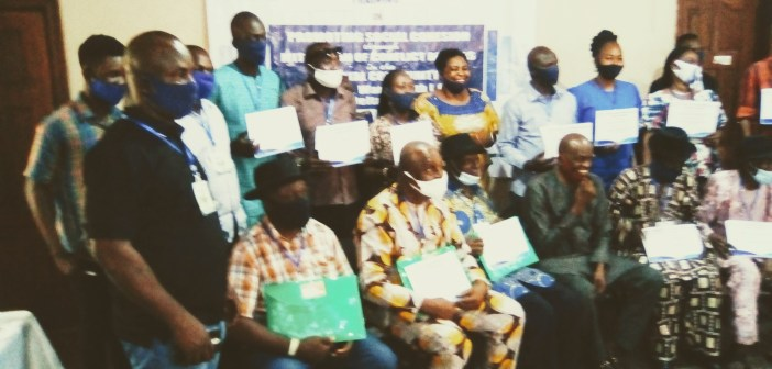 DICI, PIND, Broker Peace in Aja-Amita Community With 3-Day Conflict Transformation Training