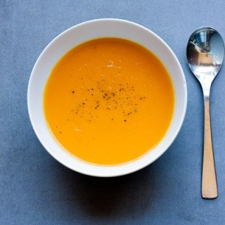 Carrot, Coriander, and Orange Soup