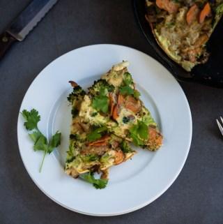 Green Eggs Breakfast Bake