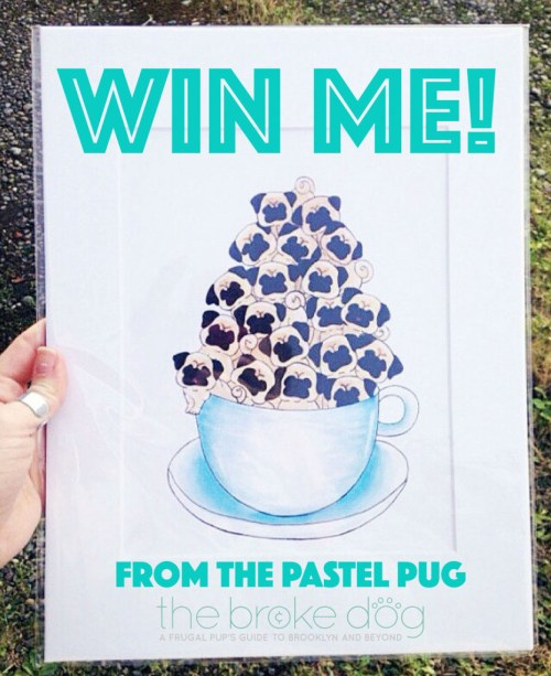 We interview Chelsea of The Pastel Pug, an Etsy shop featuring wood burned and painted human and portraits. Plus: A GIVEAWAY!