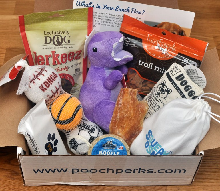There's nothing like Back to School: new notebooks, new colored pencils, new textbooks, and now, a new Pooch Perks Box! Pooch Perks will help your pup navigate a new school year with its adorable September box, which is stuffed with goodies! Check out our September Pooch Perks review to see what Henry received.