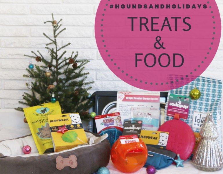 #HoundsAndHolidays Treats and Food Prize Pack