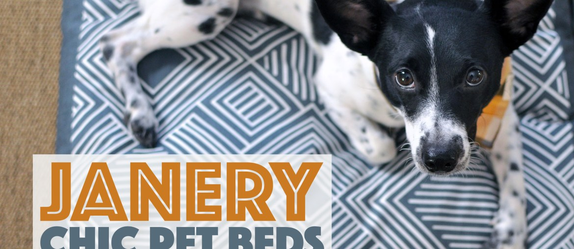 Janery: Chic Pet Beds and Home Accessories