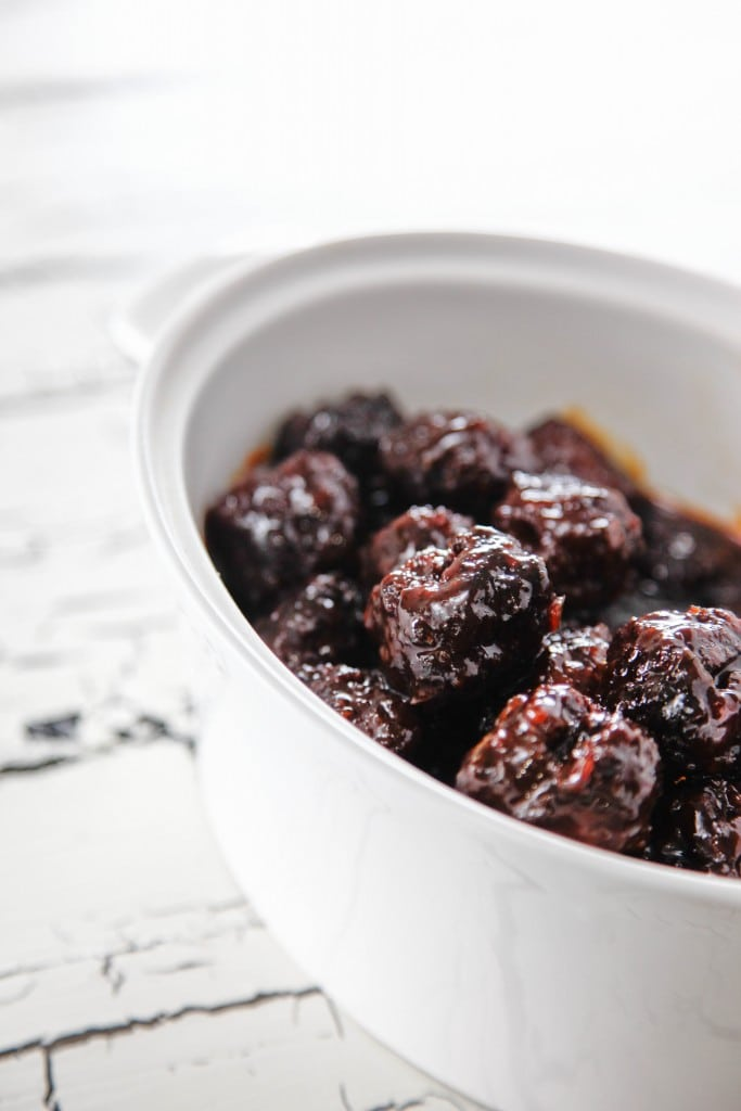 Sriracha Sweet and Sour Meatballs