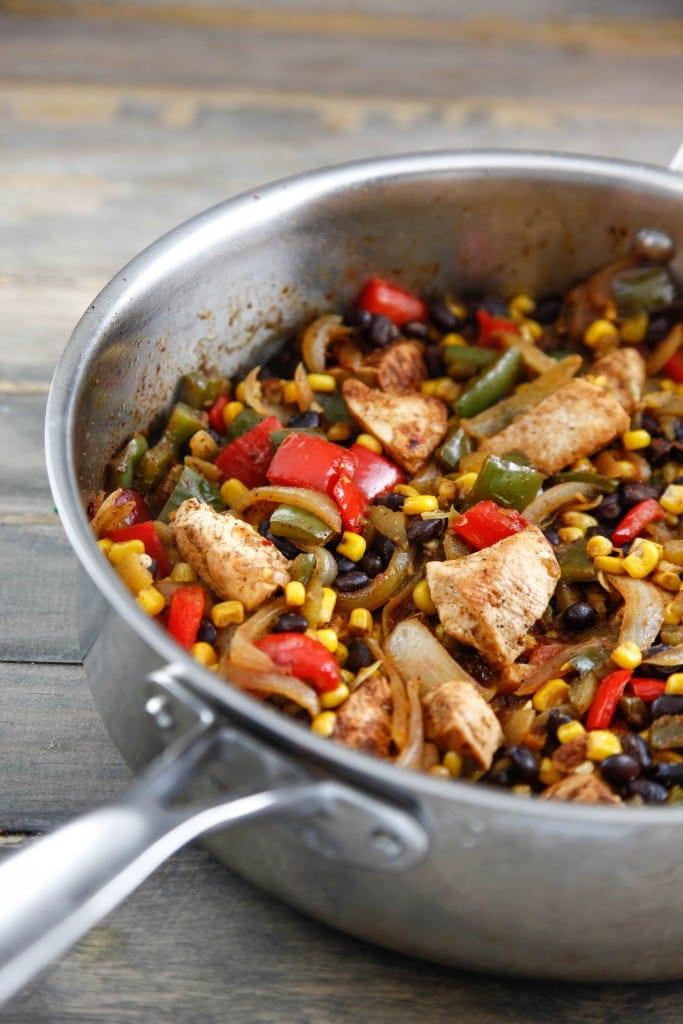 Southwest Chicken Stir Fry