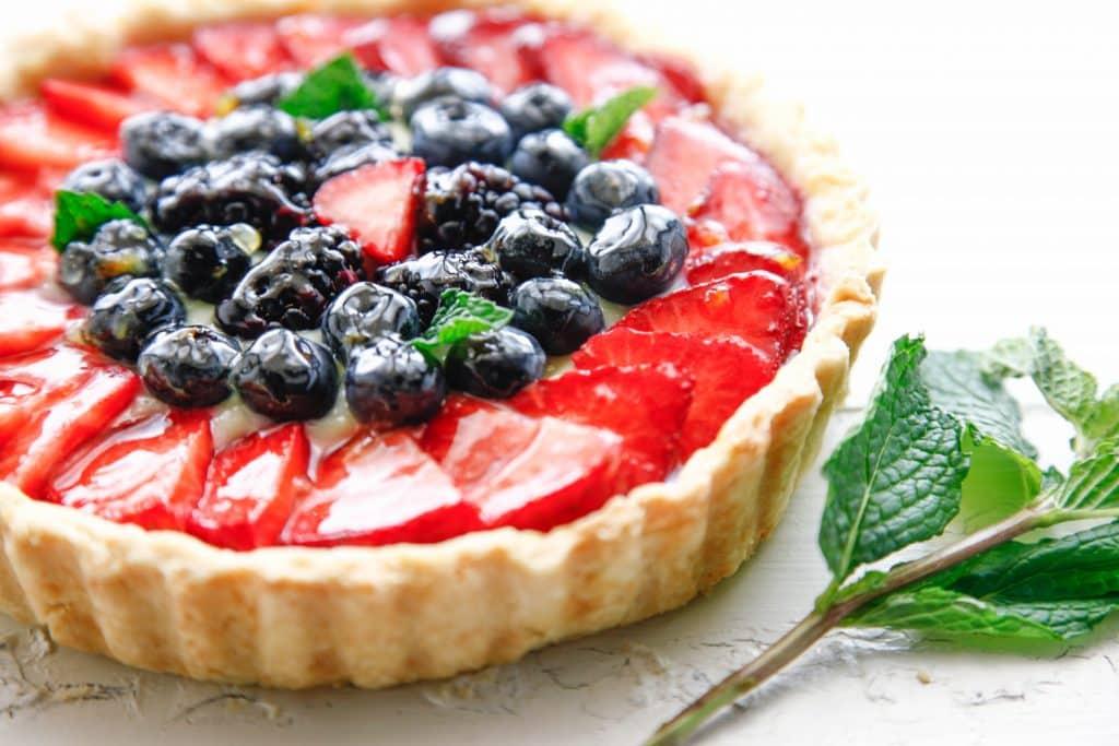 fruits tart_