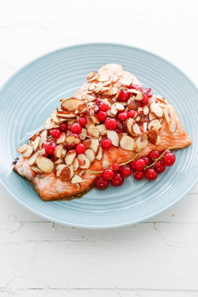 almond salmon_