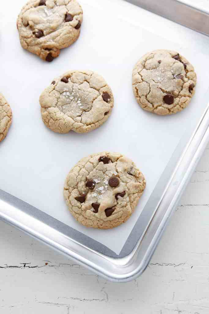 brown butter chocolate chip cookies_