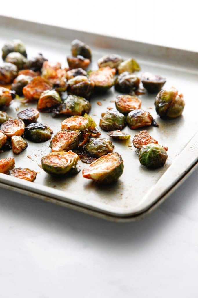 how to cook brussel sprouts in oven with honey