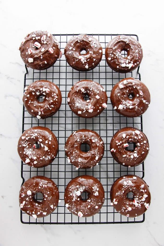 peppermint-fudge-doughnuts_
