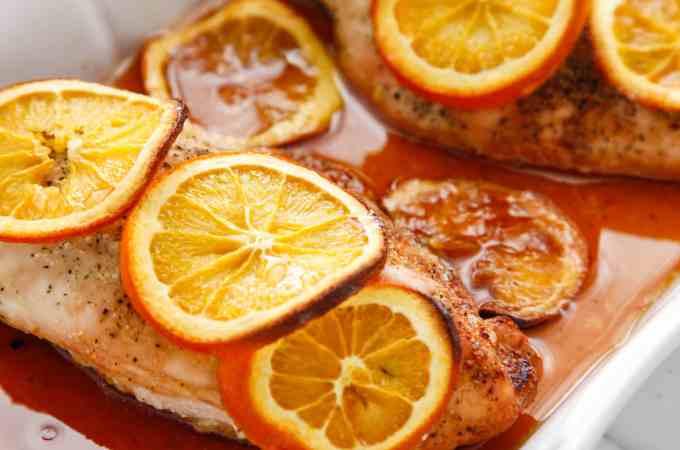 Baked Honey Orange Chicken