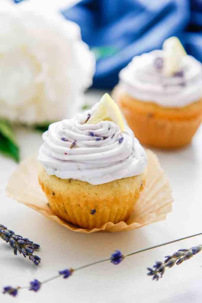 Lemon Lavender Cupcakes