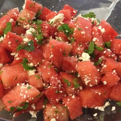 Watermelon & Feta Salad