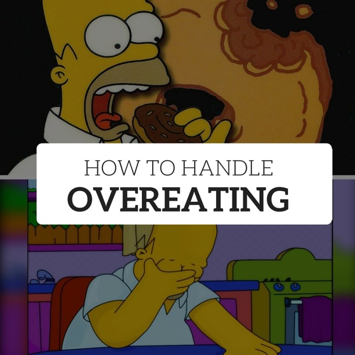How to Handle Overeating