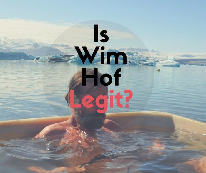 Is Wim Hof Legit