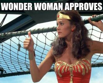 Wonder Woman Approves