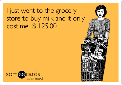 grocery shopping meme