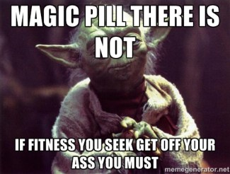 Magic pill Yoda meme