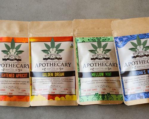 Bud Brothers Handcrafted Organic Cannabis Tea