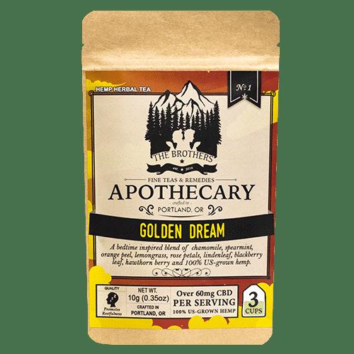 Golden Dream CBD Tea